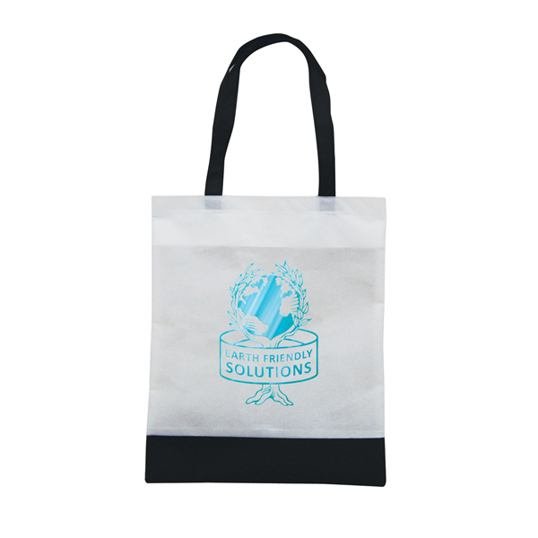 "Tote N Ship 1-Color Hot Stamp 14""W x 16""H (1-Sided)"