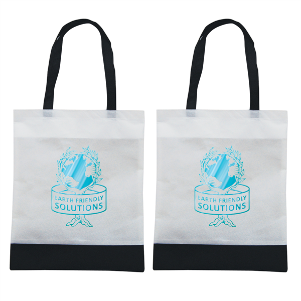 "Tote N Ship 1-Color Hot Stamp 14""W x 16""H (2-Sided)"