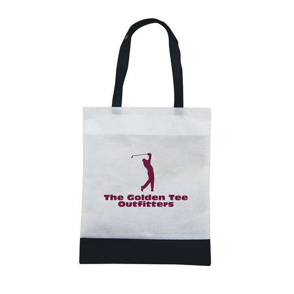 "Tote N Ship 1-Color Screen Print 14""W x 16""H (1-Sided)"