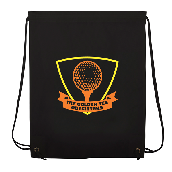 "Non-Woven Drawstring Backpacks 2-Color Screen Print 13""w x 16""h (1-Sided)"