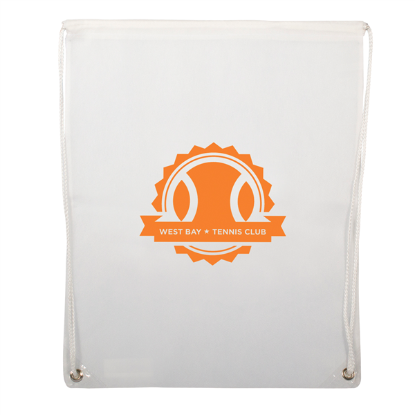 "Non-Woven Drawstring Backpacks 1-Color Screen Print 16""w x 20""h (1-Sided)"