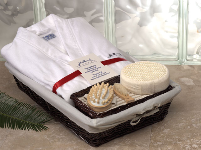 Cabana Bay(TM) Robe in a Basket - Includes a..
