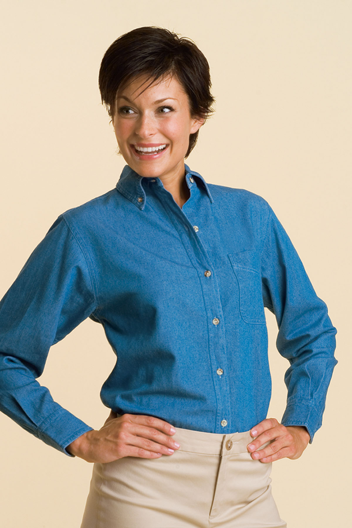 Women's Profile Denim Shirt - Women's Profile Denim Shirt
