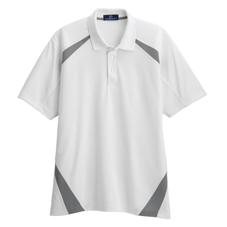 Vansport Body Mapped Blocked Polo - Vansport Body Mapped Blocked Polo