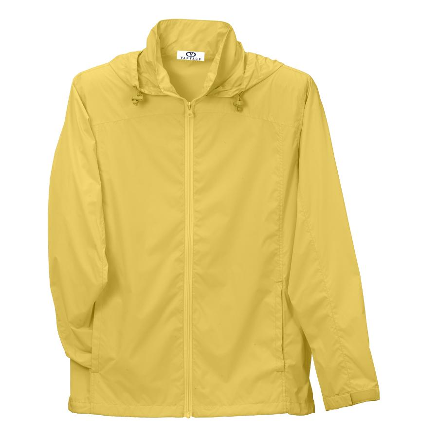 Women's Full-Zip Lightweight Hooded Jacket - Women's Full-Zip Lightweight Hooded Jacket