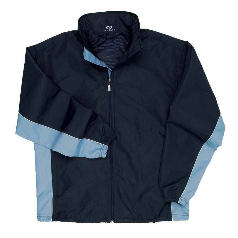 Side-Blocked Jacket - Side-Blocked Jacket
