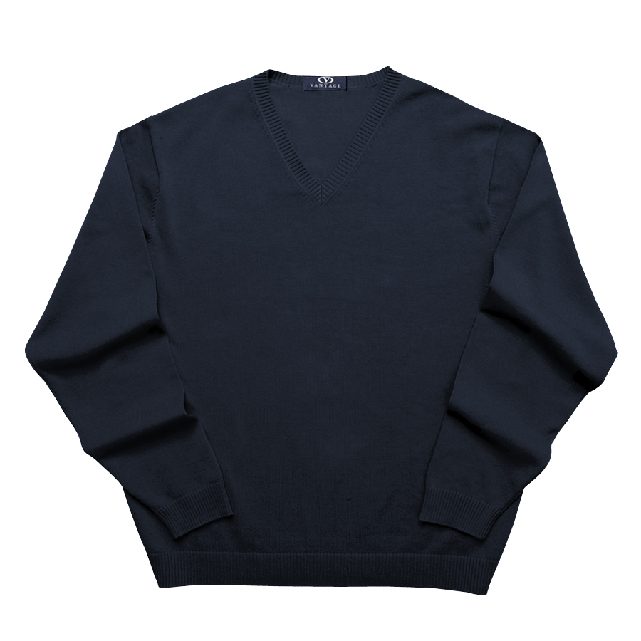 Clubhouse V-Neck Sweater - V-Neck Sweater