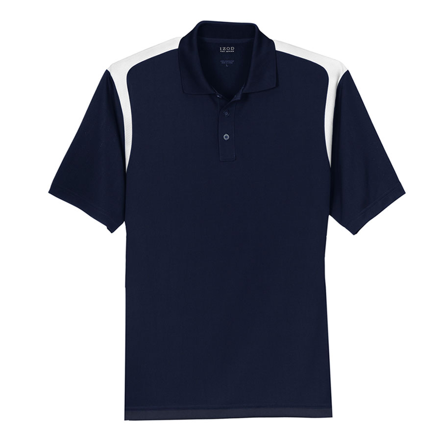 Izod Performance Blocked Polo - Izod Performance Blocked Polo