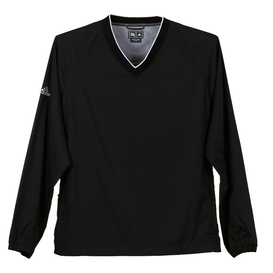 adidas ClimaProof® Long Sleeve V-Neck Windshirt - adidas ClimaProof® Long Sleeve V-Neck Windshirt