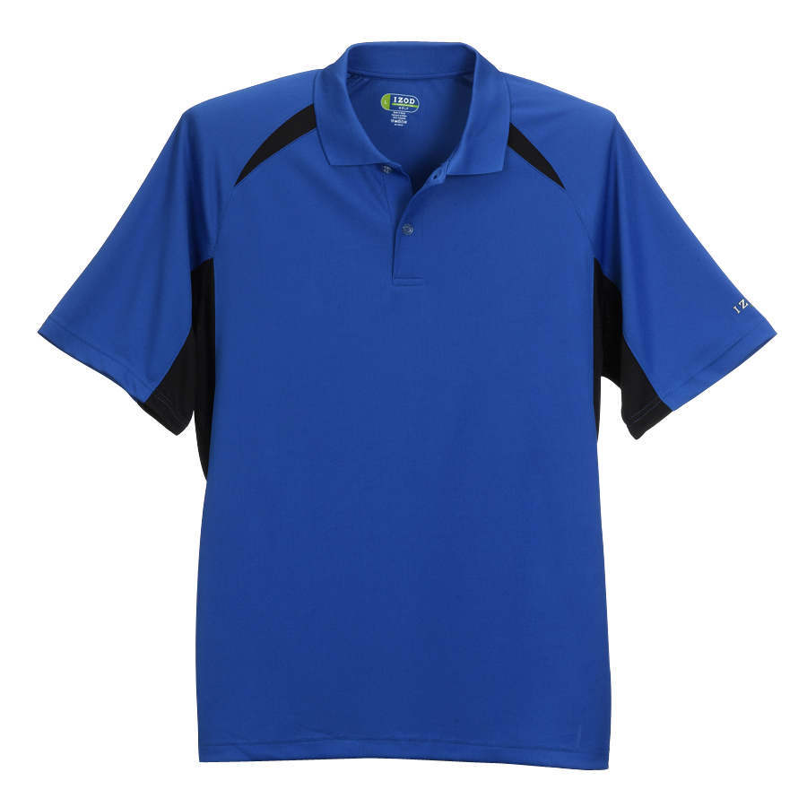 IZOD Performance Blocked Dobby Polo - IZOD Performance Blocked Dobby Polo