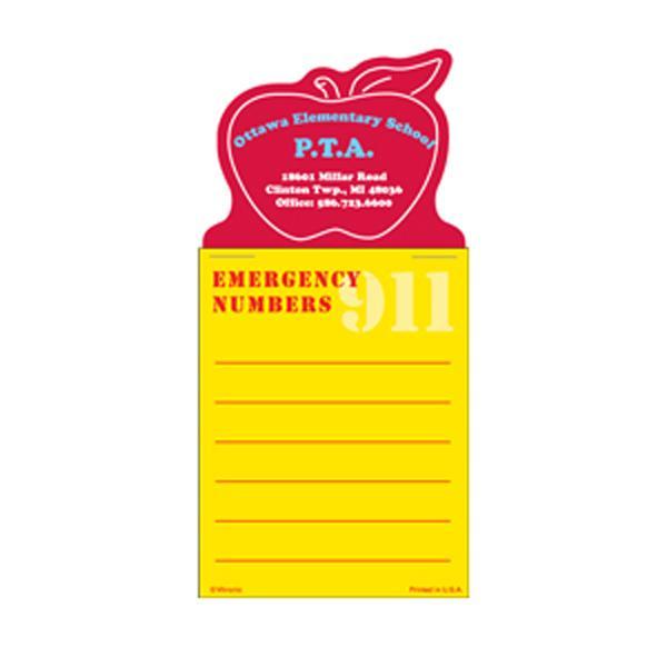 Press-N-Stick Emergency #s List