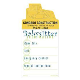 Press-N-Stick Babysitter's List