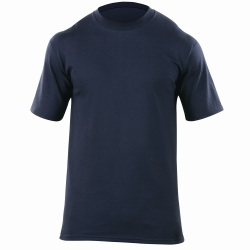 Station Wear T-Shirt - Short Sleeve - The Station Wear Short Sleeve T is made with 6 oz Jersey knit for superior comfort featuring a no roll collar  tapered fit and double needle tailoring for a clean  professional look.