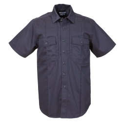 Station Shirt  B Class Non NFPA Short Sleeve (TALL) - The Men's S/S Station B Class Shirt is designed with permanent creases