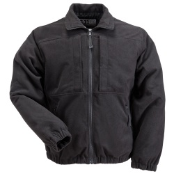 Covert Fleece Jacket - The Covert Fleece Jacket resembles the style of a duty jacket but the look and feel of fleece with tactical features that law enforcement have come to expect. As an added bonus  the Covert Fleece can zip in and out of the 3-in-1 Parka.