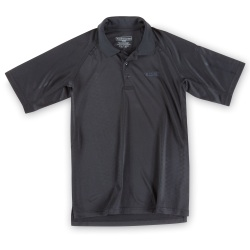 Performance Polo with 5.11 Logo - Short Sleeve - Our Performance Polo with the 5.11 Logo is made from 100% polyester synthetic weave resisting snags to the fabric. All or our Performance Polo Shirts are treated with antimicrobial  moisture wicking  and quick drying capabilities maintaining a professional appearance even in the hottest environments.