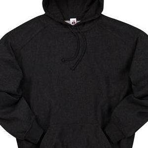 1354 Badger Adult Heavyweight Hooded Sweatshirt  - 1354-Black