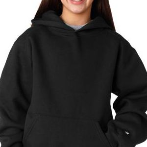2254 Badger Youth Hooded Sweatshirt  - 2254-Black