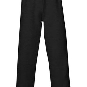 2277 Badger Youth Athletic Fleece Side Pocket Hem Leg Sweat Pant  - 2277-Black