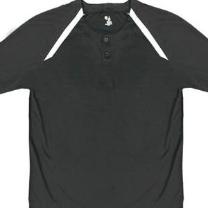 "2932 Badger B-Core Youth ""Competitor"" Two Button Placket Jersey"