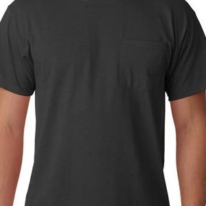 29MP Jerzees Adult Heavyweight 50/50 Blend T-Shirt with Pocket  - 29MP-Black