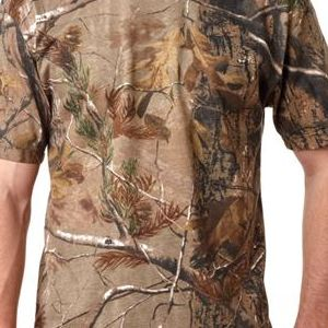 3980 Code V Adult REALTREE® Camouflage Cotton T-Shirt  - 3980-Realtree AP HD