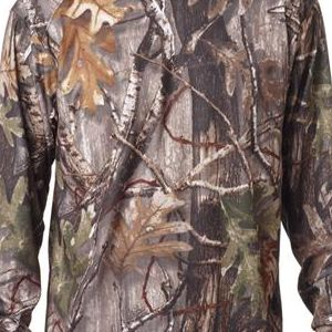 3981 Code V Adult REALTREE® Camouflage Cotton Long-Sleeve T-Shirt  - 3981-Realtree AP HD