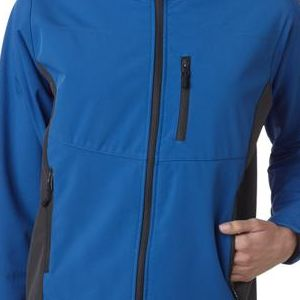 4260 Storm Creek Ladies' StormX Soft Shell Jacket  - 4260-Storm Blue/ Tar