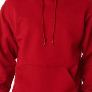 4997 Jerzees Adult Super Sweats® Hooded Pullover Sweatshirt  - 4997-True Red