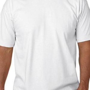 5040 Bayside Adult Short-Sleeve Cotton Tee  - 5040-White