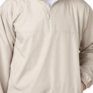 8936 UltraClub® Adult Micro-Polyester Windshirt  - 8936-Sand