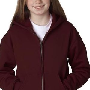 993B Jerzees Youth NuBlend® Hooded Full-Zip Sweatshirt