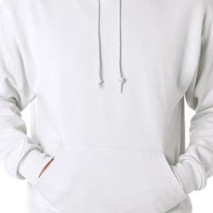 996 Jerzees Adult NuBlend® 50/50 Hooded Pullover Sweatshirt  - 996-White