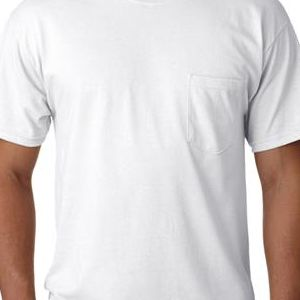 G2300 Gildan Adult Ultra CottonTM T-Shirt with Pocket  - G2300-White