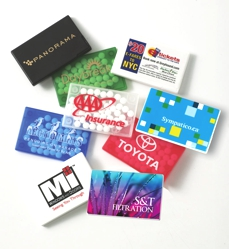 Rectangle Mint Card - Freshen up your next direct mail campaign or tradeshow giveaway with one of our mint cards.