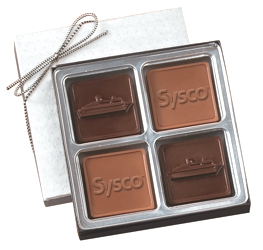 Chocolate Squares Gift Box