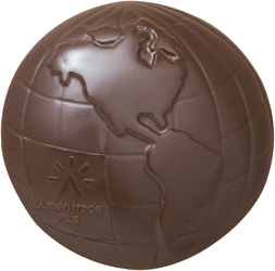 5 oz Chocolate Globe