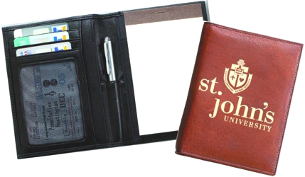 Global Note Wallet with Pen - Global Note Wallet with Pen