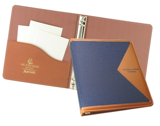 "Edge 1"" Ring Binder - Made in USA Union Bug Available"