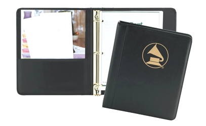"Fairfield Leather 1"" Ring Binder - Fairfield Leather 1"" Ring Binder"