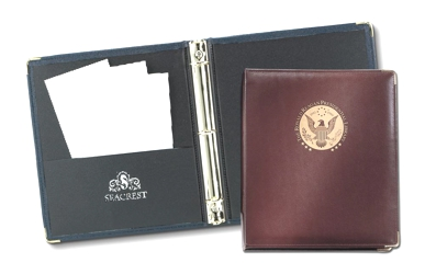 "Elite®  1 1/2"" Ring Binder - Made in USA Union Bug Available"