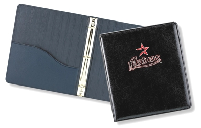 "Lethredge® 1"" Moiré Ring Binder - Made in USA Union Bug Available"