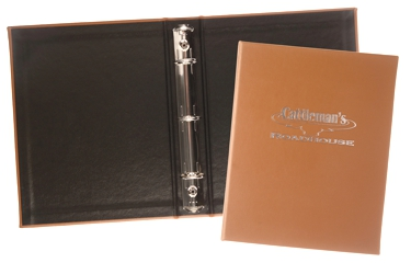 "1 1/2"" Junior Ring Binder - Made in USA Union Bug Available"