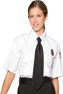 SECURITY SHORT SLEEVE SHIRT 100% POLYESTER