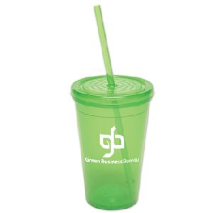 "16 Oz. Semi-Pro Tumbler - This Tumbler is BPA-Free Food Grade Polypropylene <font size=""4"">&#9847;</font> (non-breakable)"