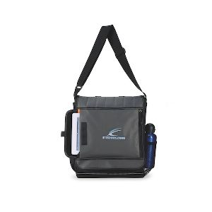 Impact Vertical Computer Messenger Bag - Modern computer bag for the tech-savvy professional