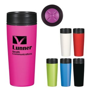 14 Oz. Stainless Steel Glossy Tumbler -