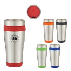 15 Oz. Stainless Steel Aspen Tumbler -