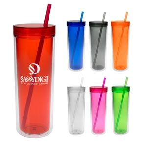 16 Oz. Double Wall Aria Tumbler