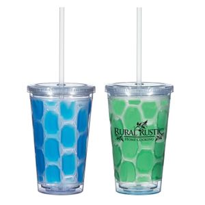16 Oz. Double Wall Tumbler With Cooling Inner Wall -